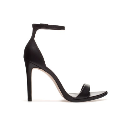 LEATHER SANDAL- Zara